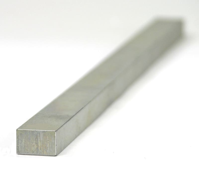 0.250 X 0.500 X 12.000 Mild Steel Keystock - None