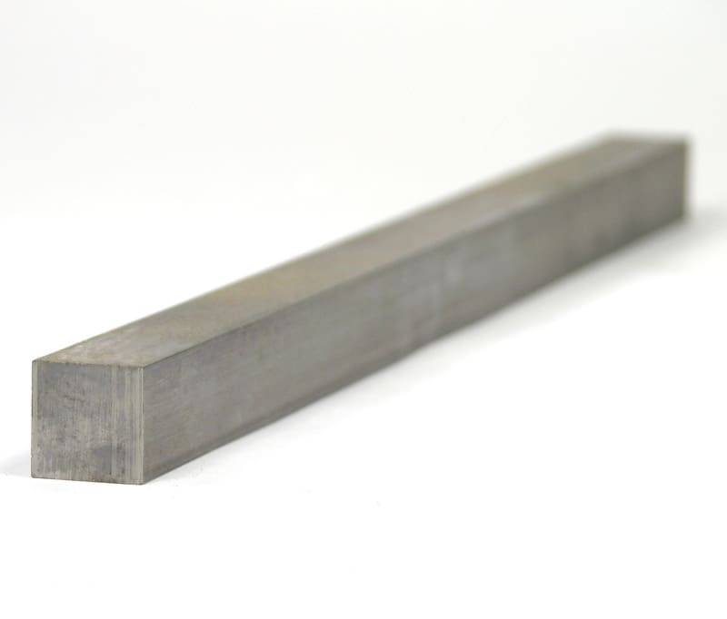 0.500 X 0.500 X 12.000 Square Mild Steel Keystock - None