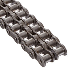 100-2 Riveted Roller Chain 10 Foot Length With C/l - None