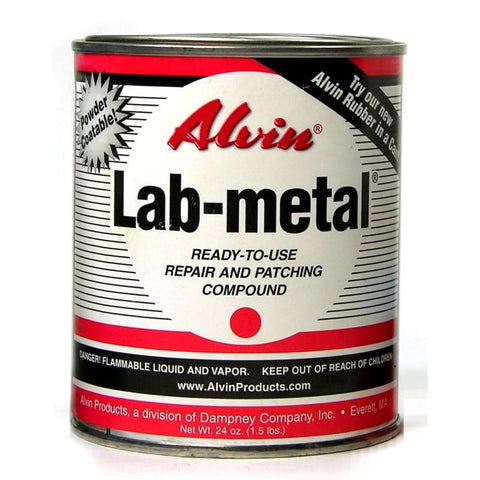 10102, Alvin Lab Metal 24 oz Can