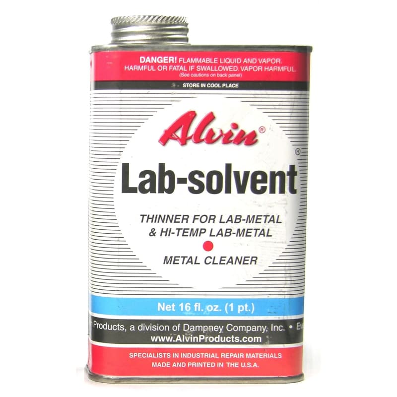 20102 Alvin Lab Metal Solvent 16 Fl. Oz. - None