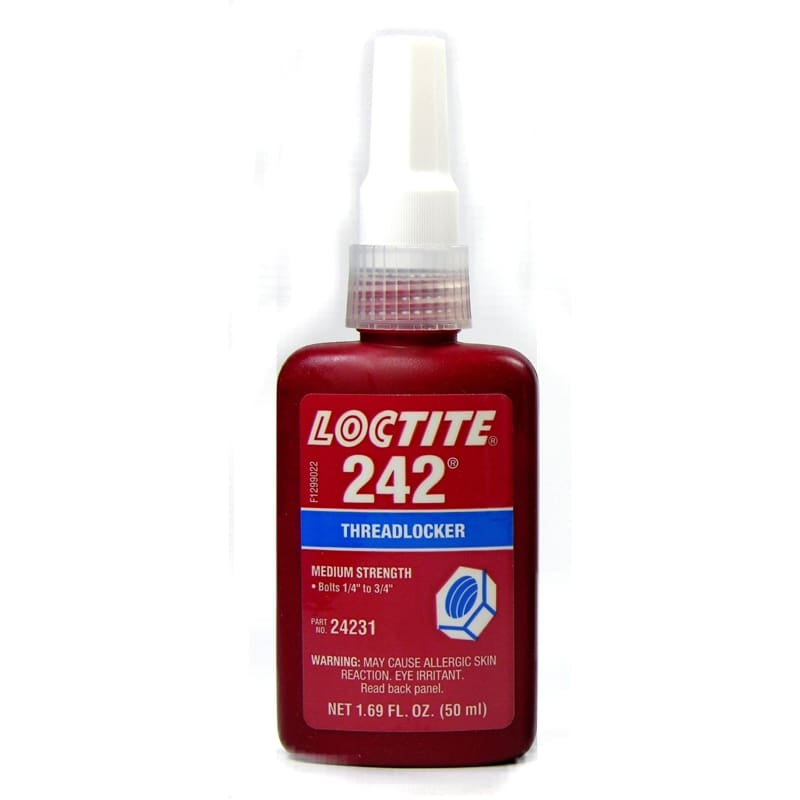 24231 Loctite Threadlocker 50 Ml Bottle - None