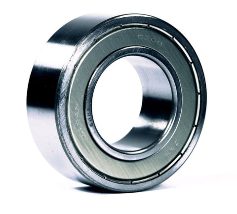5206-ZZ, JAF Brand, 2-Row Angular Contact Ball Bearing