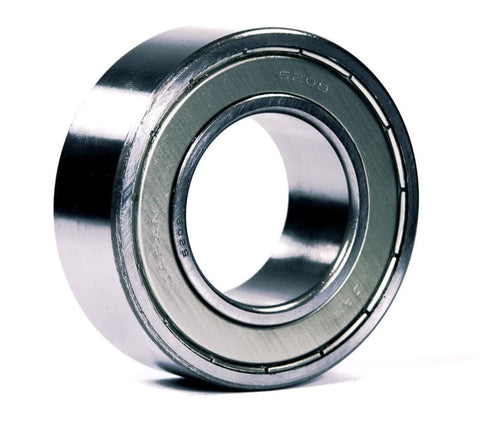 5208-ZZ, JAF Brand, 2-Row Angular Contact Shielded Ball Bearing