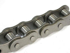 60-1 Riveted Roller Chain 10 Foot Length With C/l - None