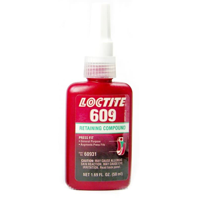 60931 Loctite Retaining Compound 50Ml Bottle - None