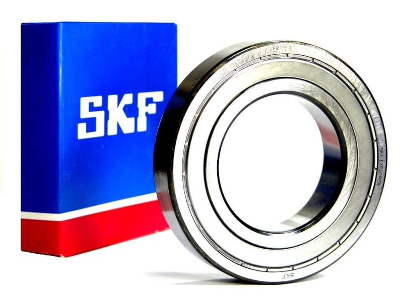 6203-ZZ SKF, 17mm I.D. X 40mm O.D. X 12mm W Shielded Radial Ball Bearing