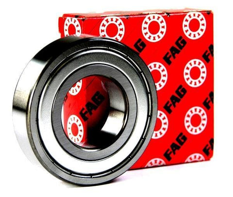 6208-ZZ FAG Shielded Radial Ball Bearing