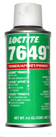 Loctite  7649 Primer N, Part# 21348, 4.5 oz Aerosol Can