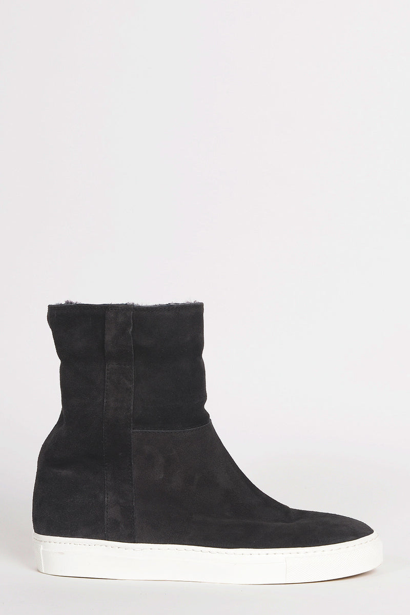 Om Lammfell Boots - antracite