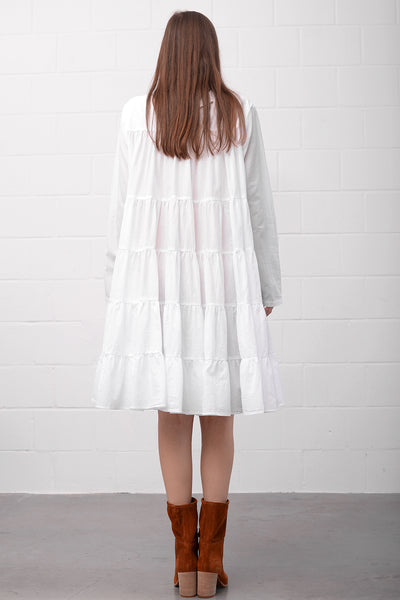 Aapaam Dress - bianco