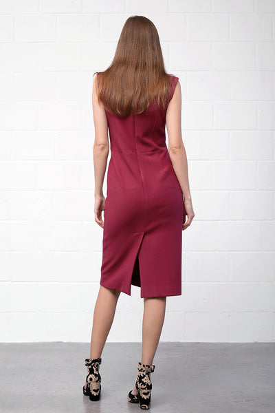 Abana Dress - berry - PREGO - made with love - Damenmode