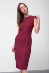 Abana Dress - berry