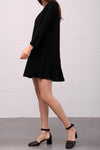 Abaso Dress - nero - PREGO - made with love - Damenmode
