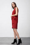 Acono Dress - marsala - PREGO - made with love - Damenmode