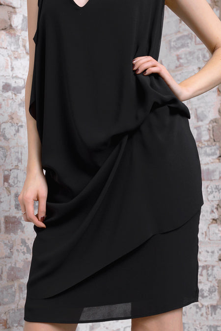 Acono Dress - nero - PREGO - made with love - Damenmode