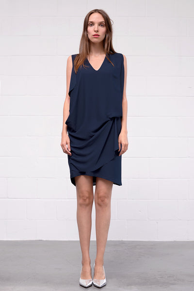 Acono Dress - notte - PREGO - made with love - Damenmode