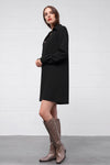 Adimona Dress - nero - PREGO - made with love - Damenmode