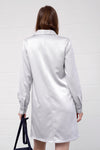 Adimona 603 Dress - silver - PREGO - made with love - Damenmode