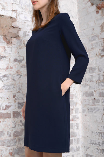 Adonna Dress - navy - PREGO - made with love - Damenmode