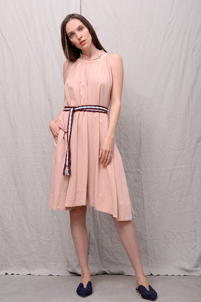 Adorina Dress - powder
