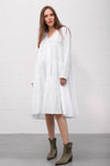 Alanta Dress - bianco