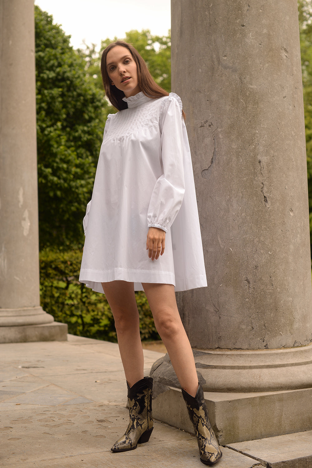 Alek Dress - bianco