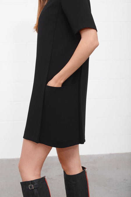 Alinda Dress - nero