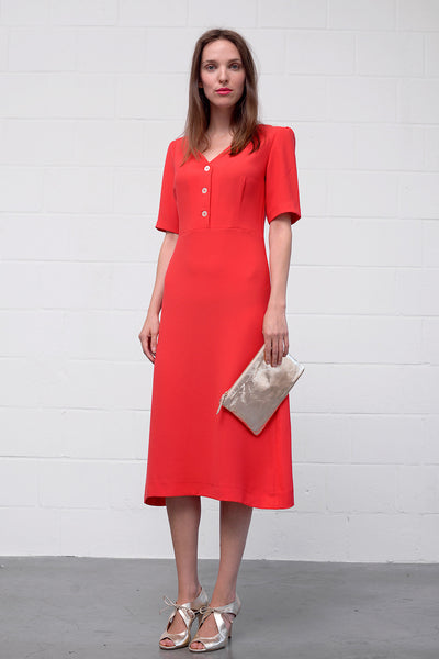 Amarel Dress - rouge