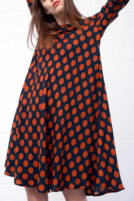 Ametist Dress - notte point