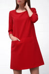 Amirja Dress - red