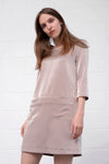 Amirja 603 Dress - taupe