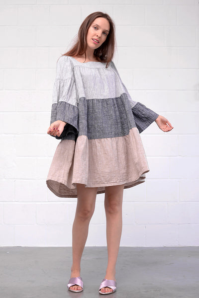 Anabi Dress - grigio cappuccino
