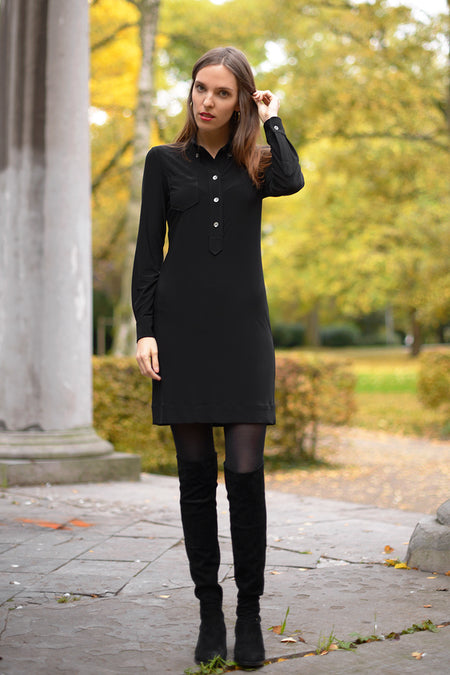 Ananea Dress - nero