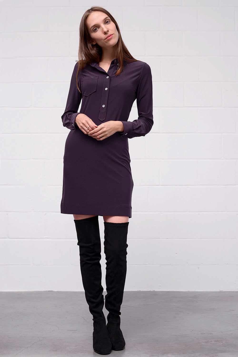Ananea Dress - plum