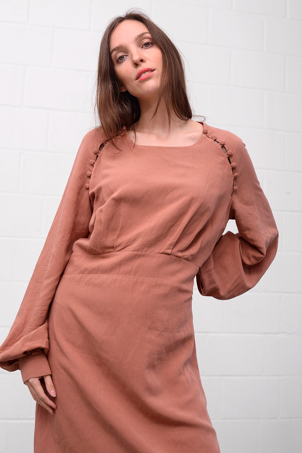 Antonia 811 Dress - blush