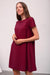 Apesia Dress - merlot