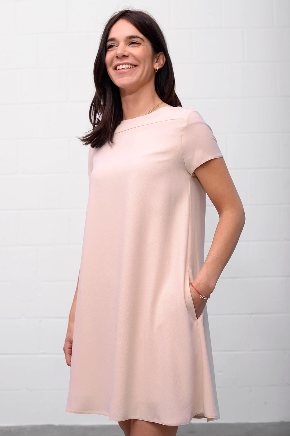 Apesia Dress - nude