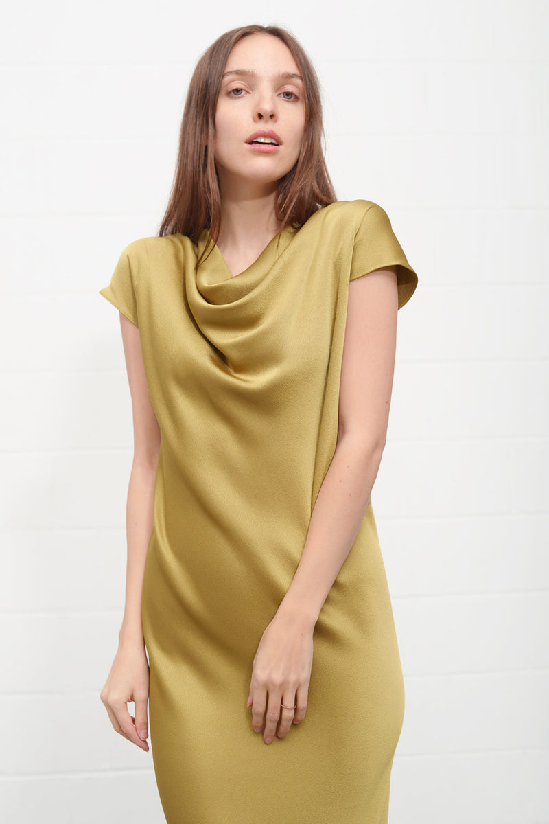 Aquis 720 Dress - oldgold