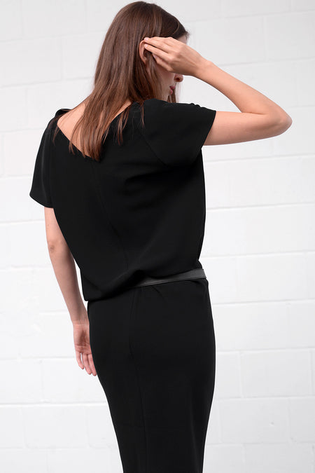 Aquisa Dress - nero