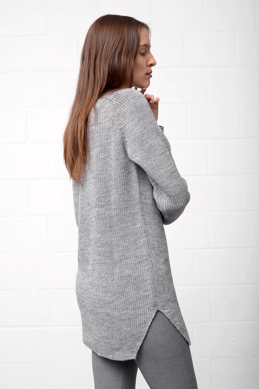 Aran 17 Dress - grigio