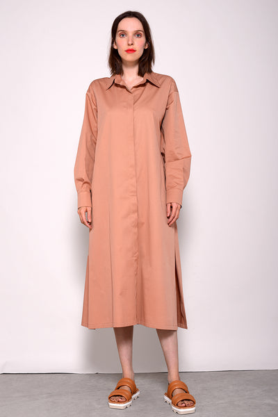 Aromas Dress - camel
