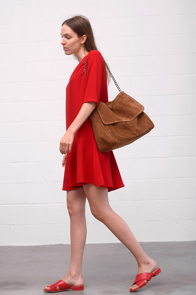 Aset Dress - red