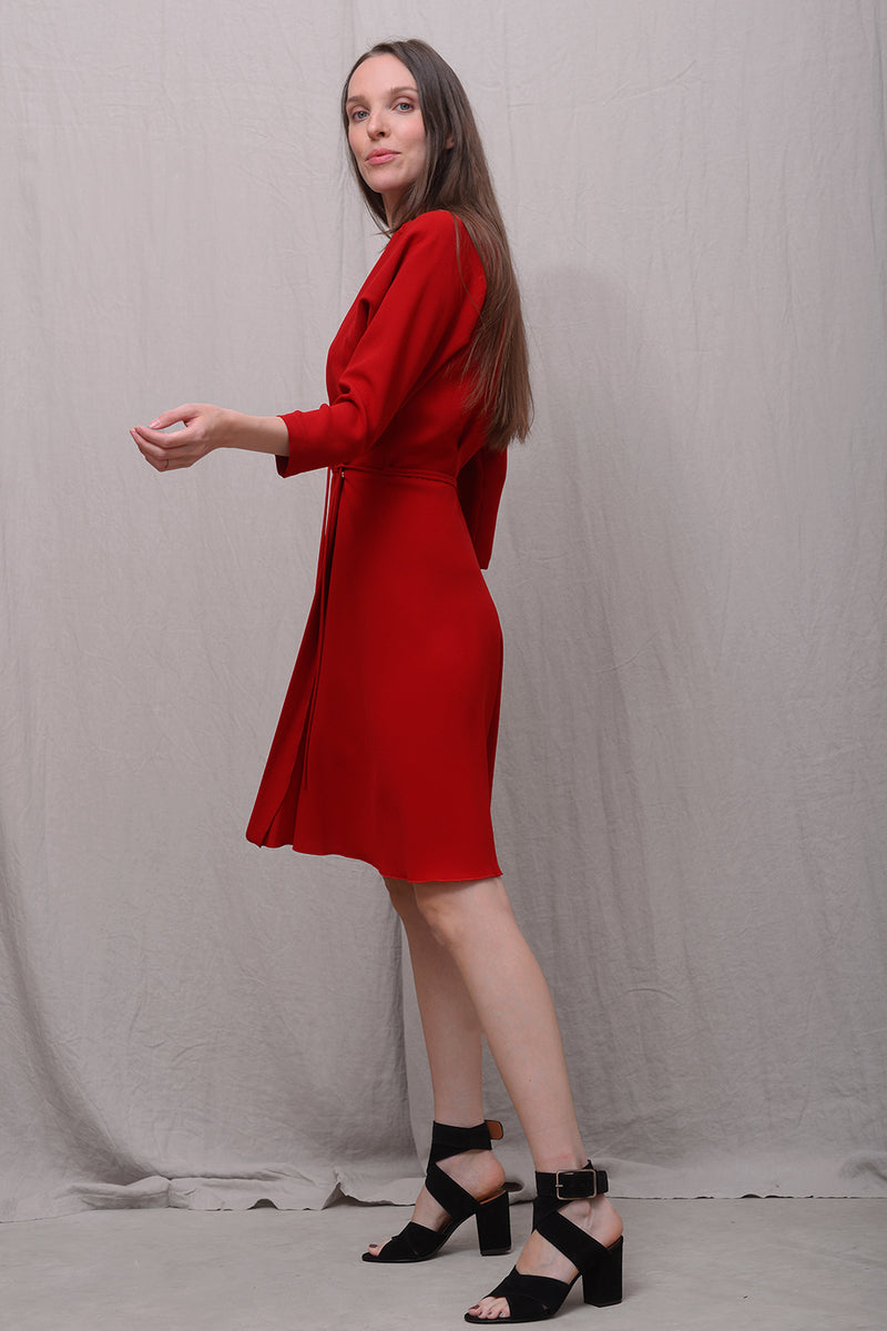 Astrid 033 Dress - rouge