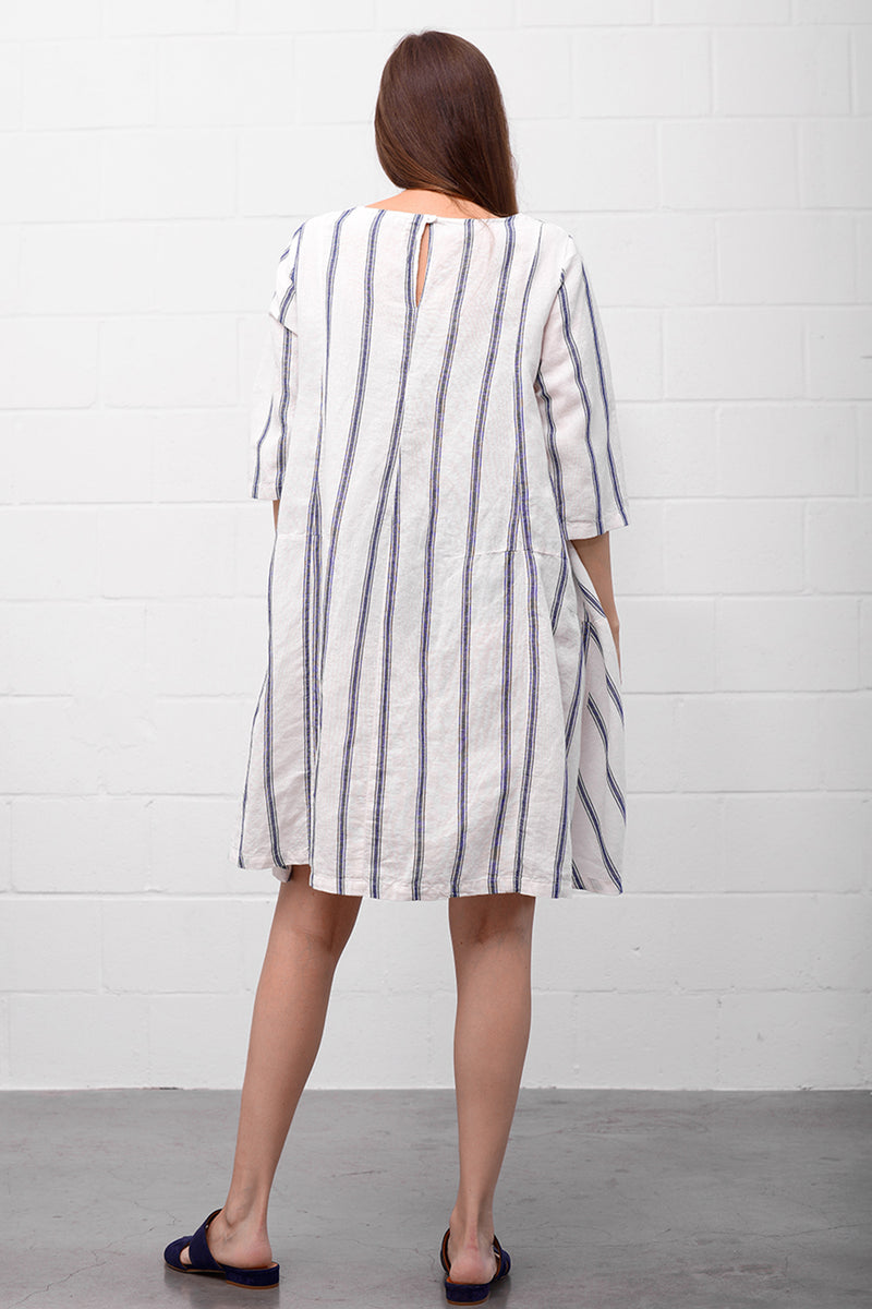 Avara Leinen Dress - sailor