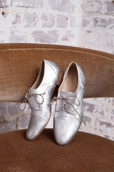 Buenos Aires Lam Shoe - silver