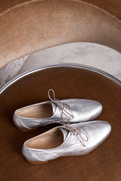 Buenos Aires Lam Shoe - silver - PREGO - made with love - Damenmode