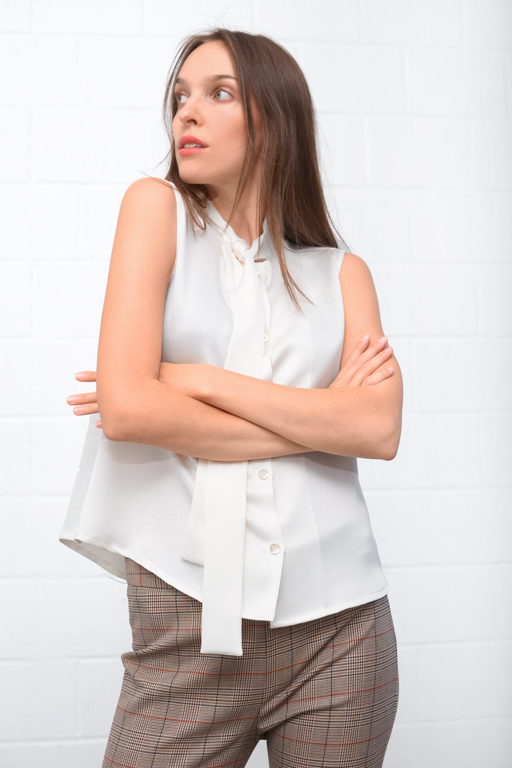 Cainra Blouse - bianco