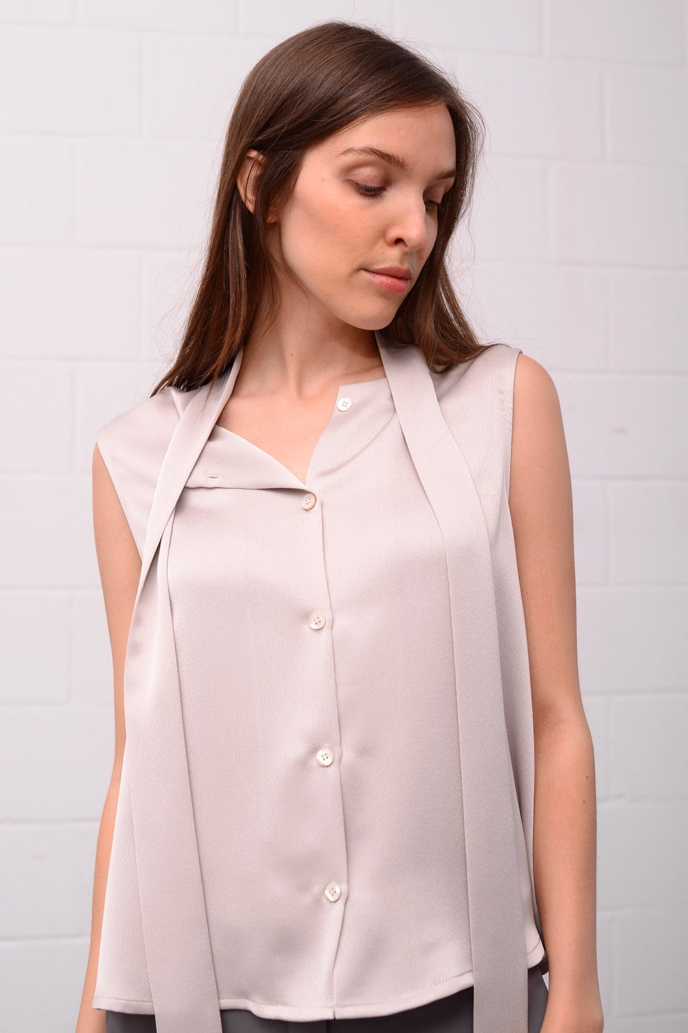 Cainra Blouse - oyster