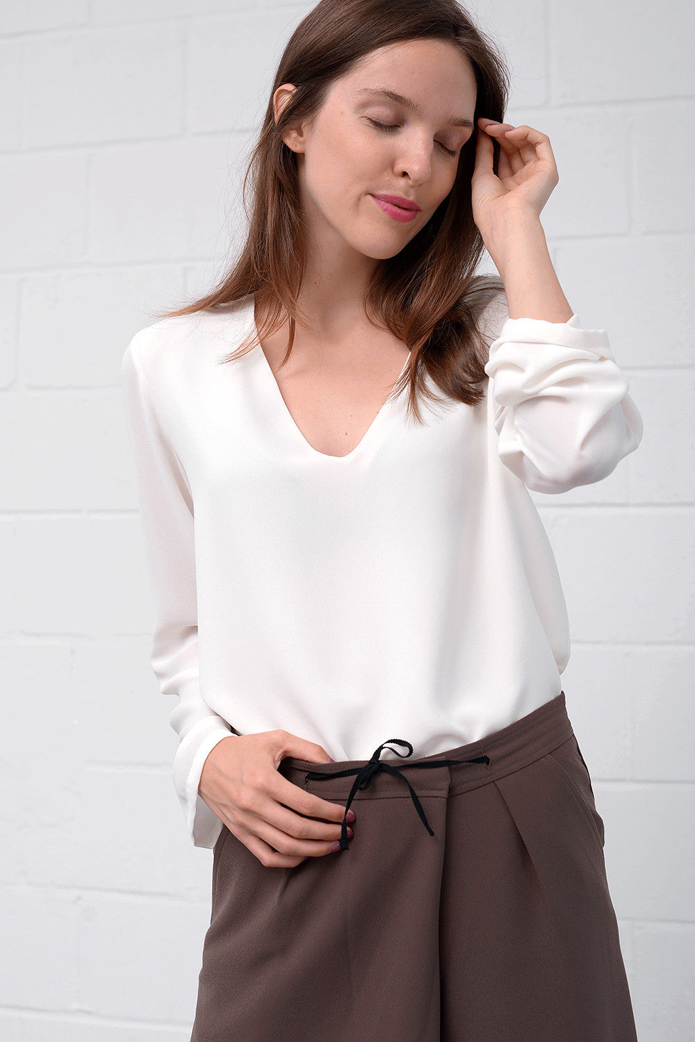 Calino Blouse - latte
